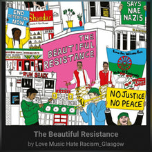 Load image into Gallery viewer, Love Music Hate Racism : The Beautiful  Resistance. VINYL LP Compilation