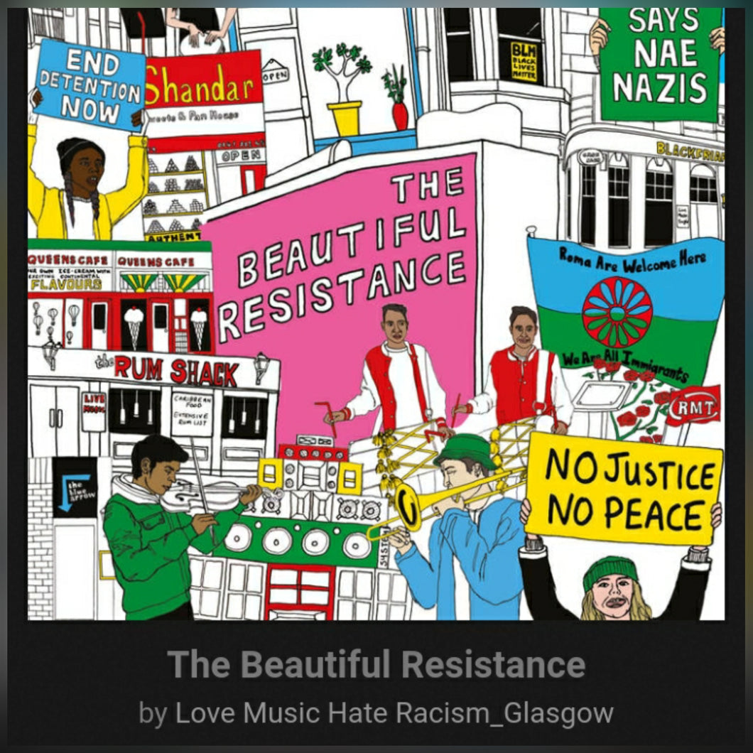 Love Music Hate Racism : The Beautiful  Resistance. VINYL LP Compilation