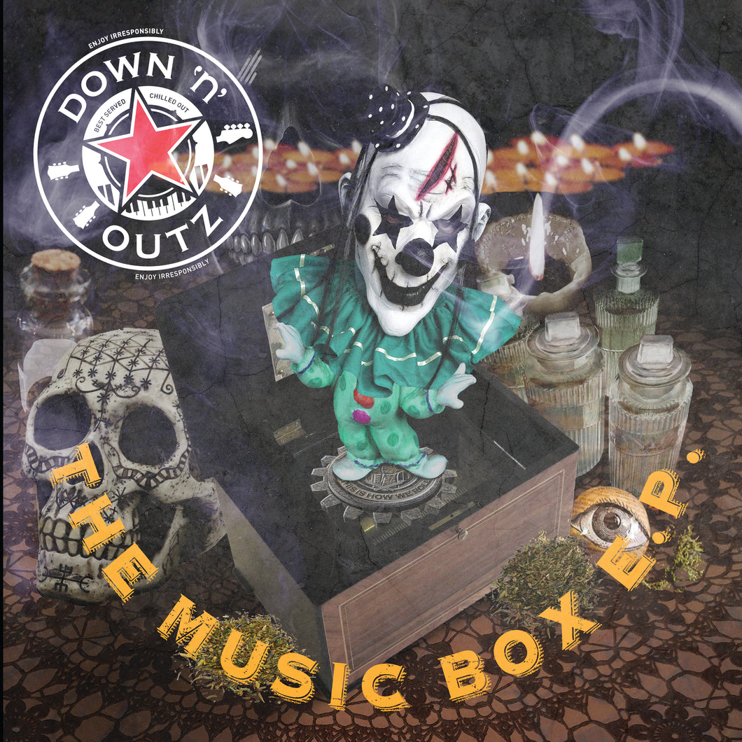 "Down N Outz - Music Box 12"" EP (RSD2020) Def Leppard Joe Elliot All Star band"