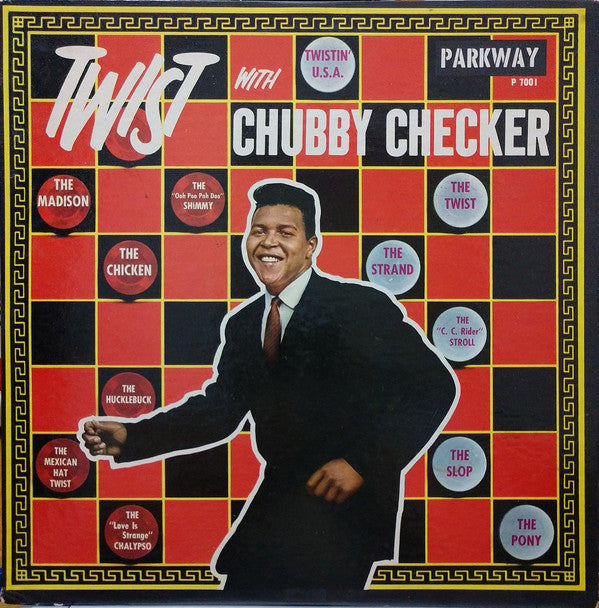 CHUBBY CHECKER - Twist With Chubby Checker (2020) New Remastered Vinyl LP