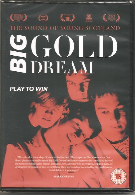 BIG GOLD DREAM – PLAY TO WIN (2015) DVD – THE SOUND OF YOUNG SCOTLAND