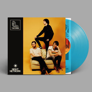 The Cribs - Night Network (2020) NEW BLUE VINYL LP
