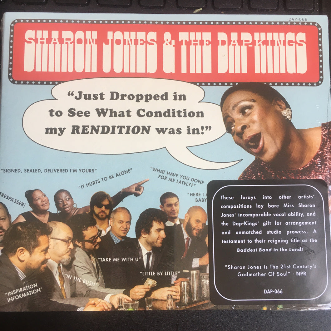 SHARON JONES and the DAP KINGS - Just Dropped In (2020) New Funk Soul CD
