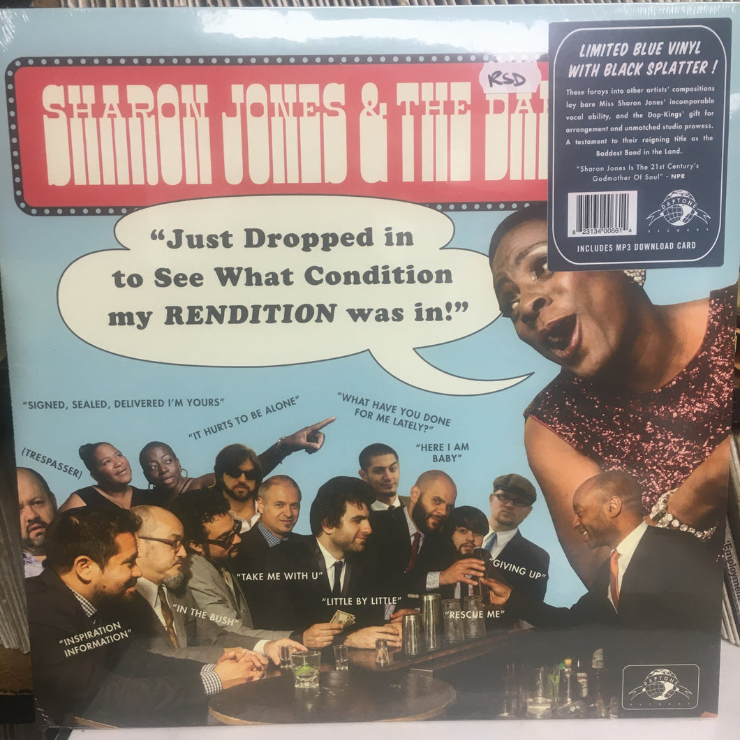 SHARON JONES & the DAP KINGS - Just Dropped In... NEW VINYL LP (Daptone Records)
