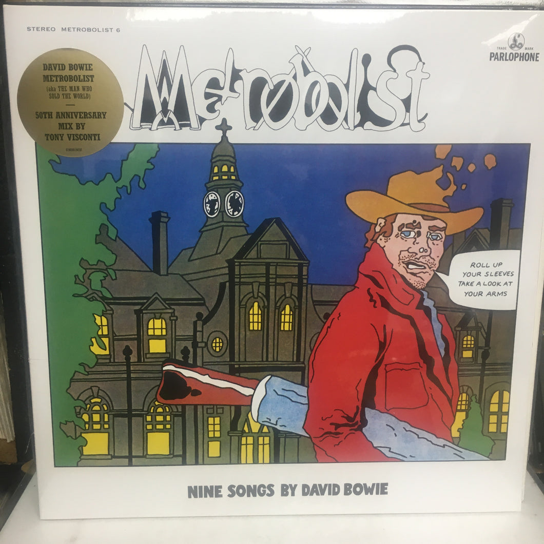 DAVID BOWIE - Metrobolis : Man Who Sold the World) SEALED VINYL LP : LUCKY DIP FOR COLOUR