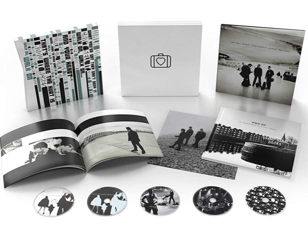 U2 - ALL THAT YOU CAN'T LEAVE BEHIND SUPER DELUXE CD BOX 5 CD BOX SET