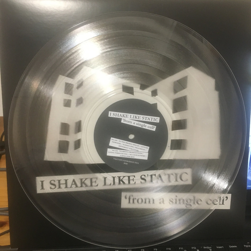 I SHAKE LIKE STATIC - From A Single Cell : New Vinyl album from Ross Morris