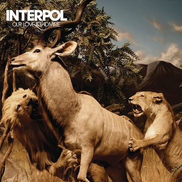 Interpol : New Ltd Edition Double Coloured Vinyl LP - Our Love To Admire (2020)
