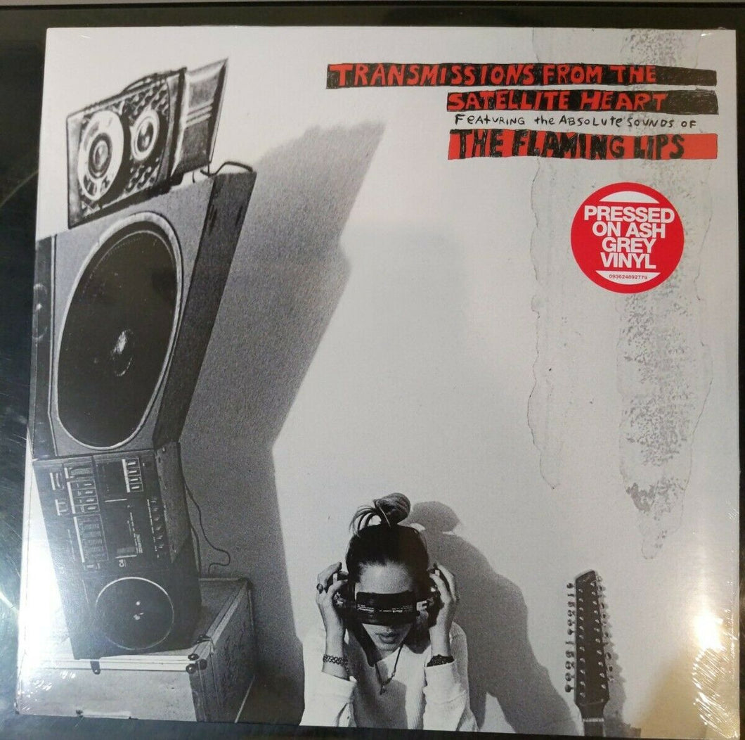 FLAMING LIPS - Transmissions From The Satellite Heart (2020) Ltd Grey Vinyl LP