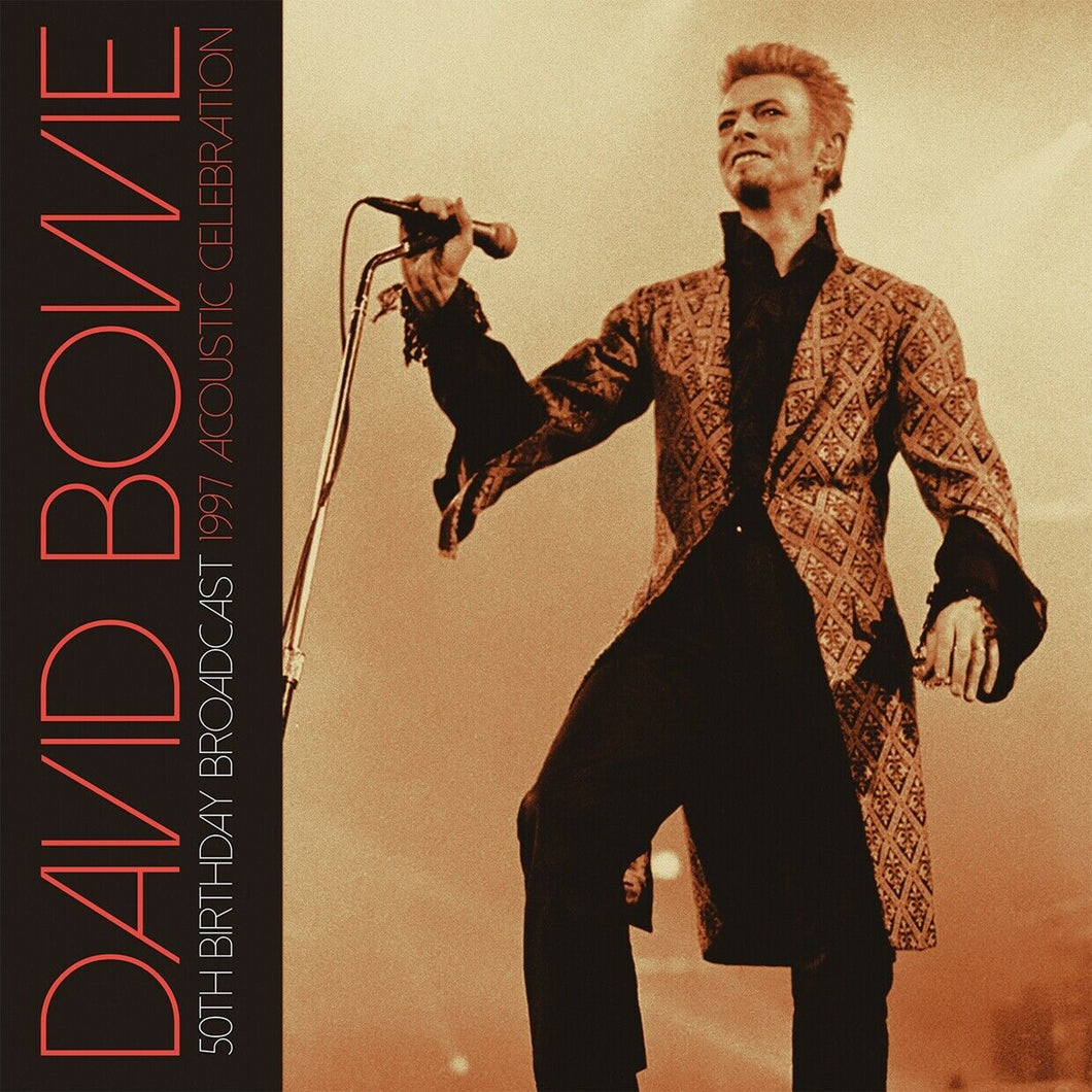 DAVID BOWIE - 50th Birthday Broadcast: 1997 Acoustic Celebration (NEW DOUBLE LP)