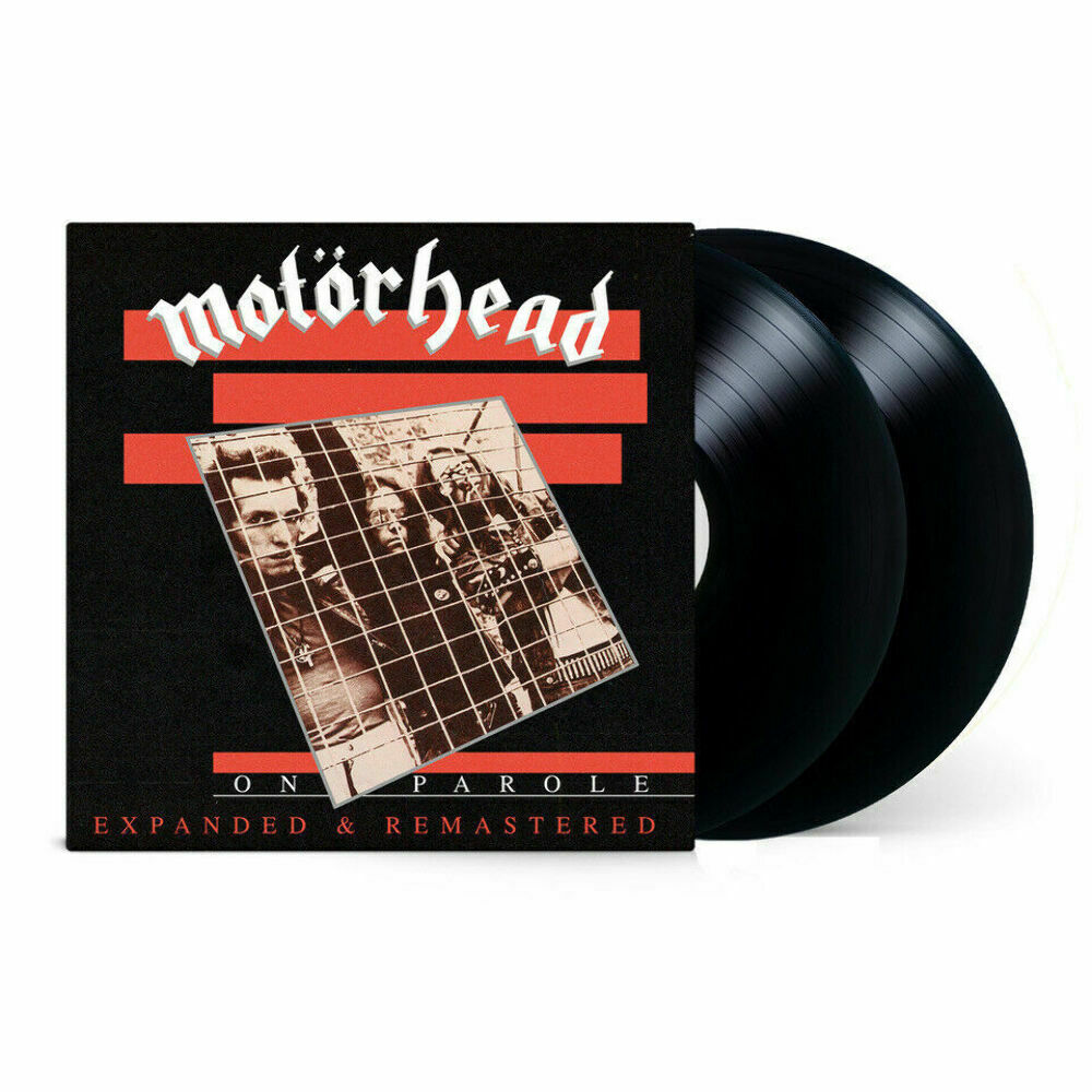 MOTORHEAD - On Parole (2020) New Expanded & Remastered, 180gm 2 x Vinyl LP