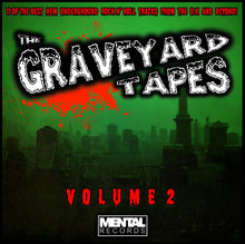 Load image into Gallery viewer, GRAVEYARD TAPES - VOL 2 (2019) NEW GREEN VINYL LP - 11 PSYCHOBILLY/PUNK TRAX