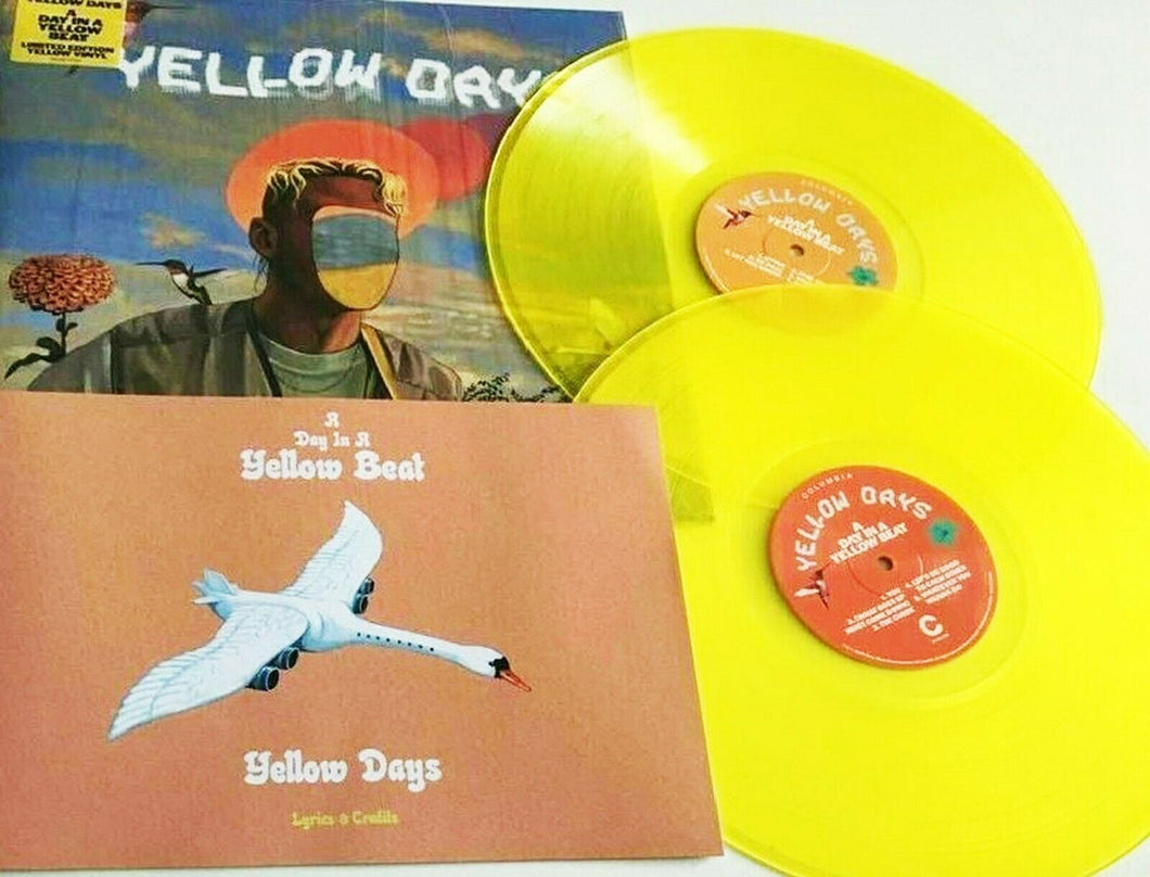YELLOW DAYS - A Day In A Yellow Beat (2020) New Ltd Edit 2 x Yellow VINYL + CD