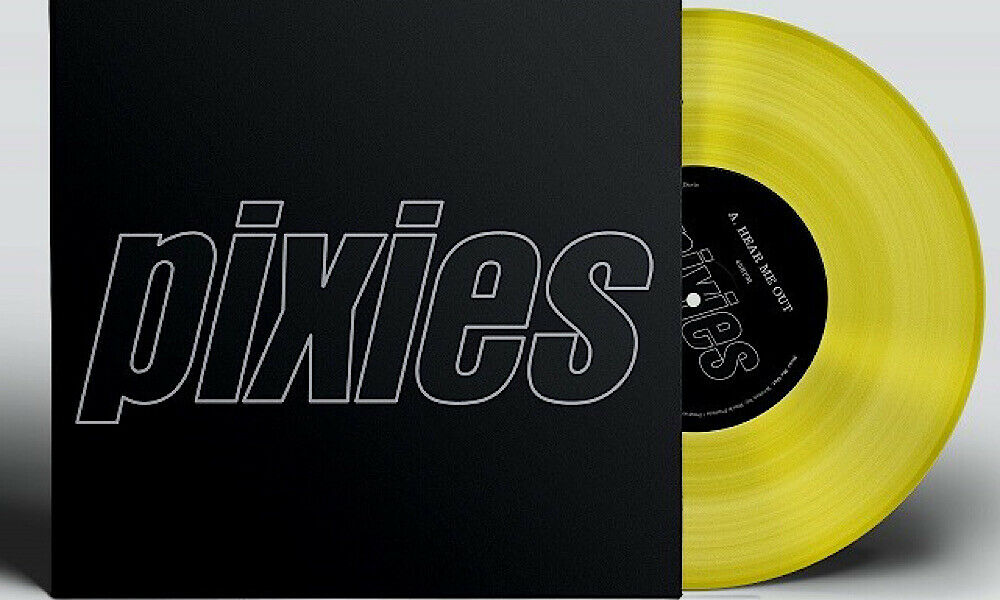 "PIXIES - NEW 12"" Yellow Vinyl : Hear Me Out / Mambo Sun"