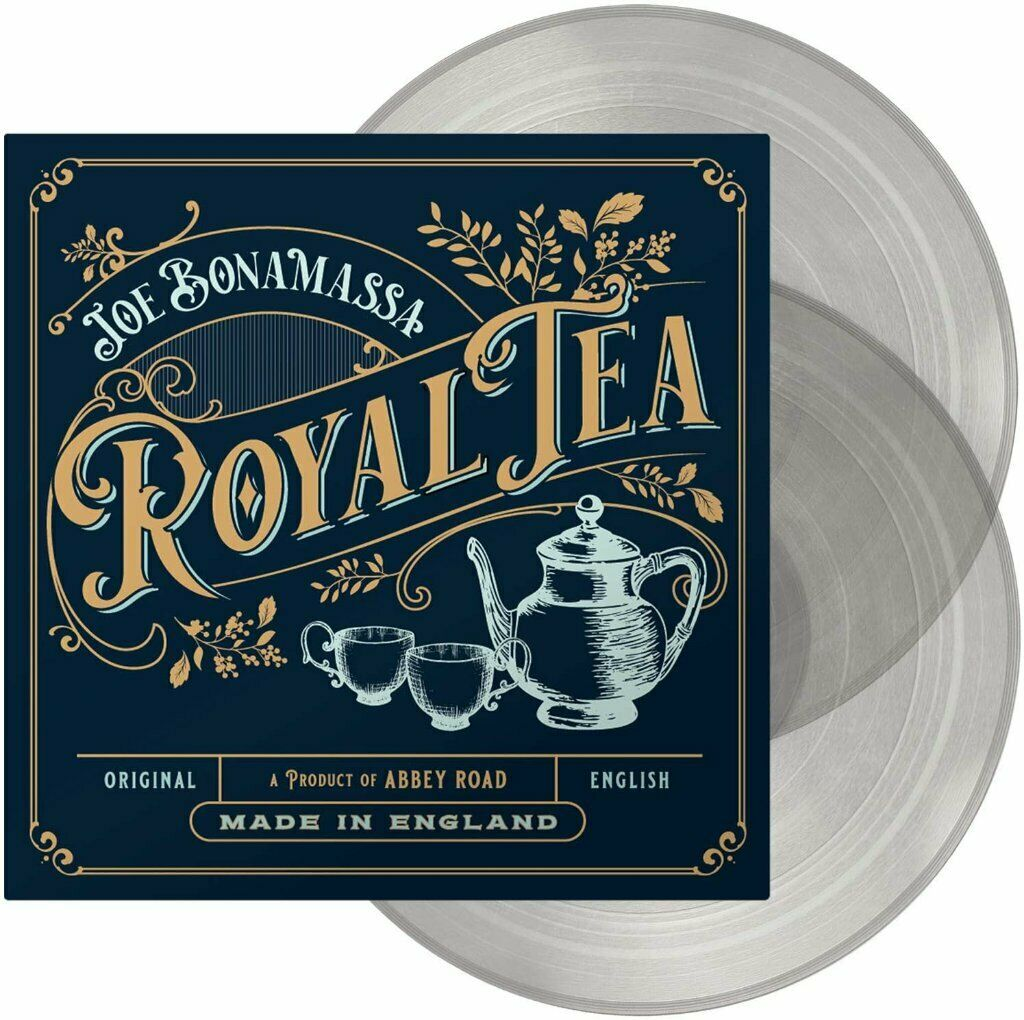 JOE BONAMASSA - Royal Tea (2020) New 10 x track 180gm 2 x Clear VINYL LP