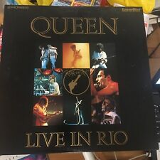 "Queen - Live In Rio : 12"" LaserDisc (1985) Japanese Edition."