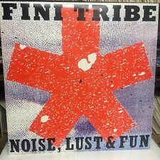 Fini Tribe - Noise Lust & Fun (1988) New & Unplayed Double Vinyl LP. (FTLP001)