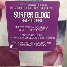 Surfer Blood : New Sealed Blue + Purple Double Vinyl LP (RSD 2020)  - Astro Coast