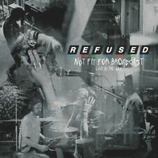 The Refused : New Coloured Vinyl LP (RSD 2020) - Not Fit For Broadcast (Live At BBC)
