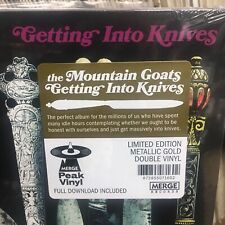 Mountain Goats : Double Gold Vinyl LP (Merge US Import 2020) - Getting Into Knives