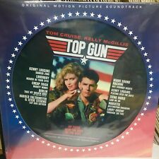 Top Gun - Various Artists Soundtrack Album : New Picture Disc Vinyl LP