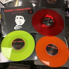 "Gerry Cinnamon - 3 x Vinyl Bundle : 1 x Erratic Cinematic Red Vinyl LP +  2 x 10"" Vinyl Singles: Sun Queen & Dark Days"