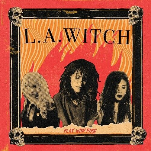 L.A. WITCH - Play With Fire (2020) New Limited Edition Red Vinyl LP