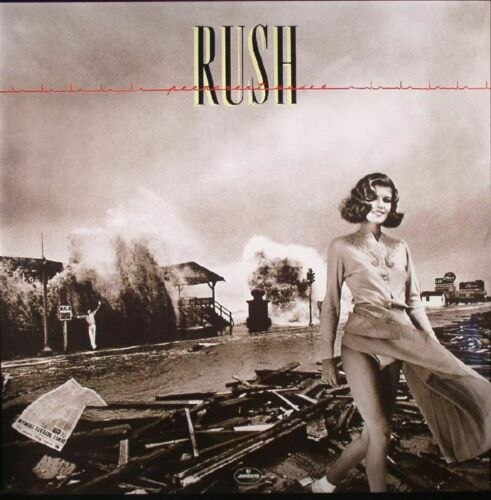 RUSH - Permanent Waves (2020) New comes with MP3 d/l code 180gm Vinyl LP