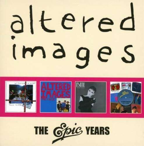 ALTERED IMAGES : The Epic Years (2018) New 4 x Disc CD BOX SET