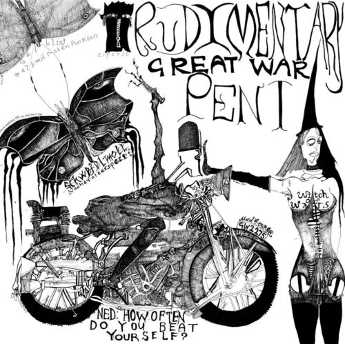 RUDIMENTARY PENI - Great War (2021) New UK Punk CD ALBUM