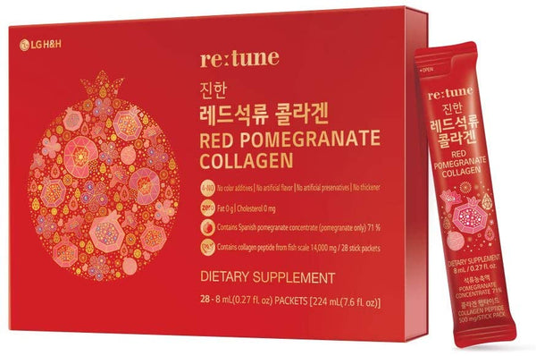 LG re:tune Red Pomegranate Collagen Red Ginseng Extract