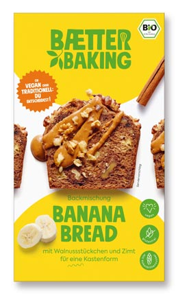 Backmischung Banana Bread 309g- Baetter Baking