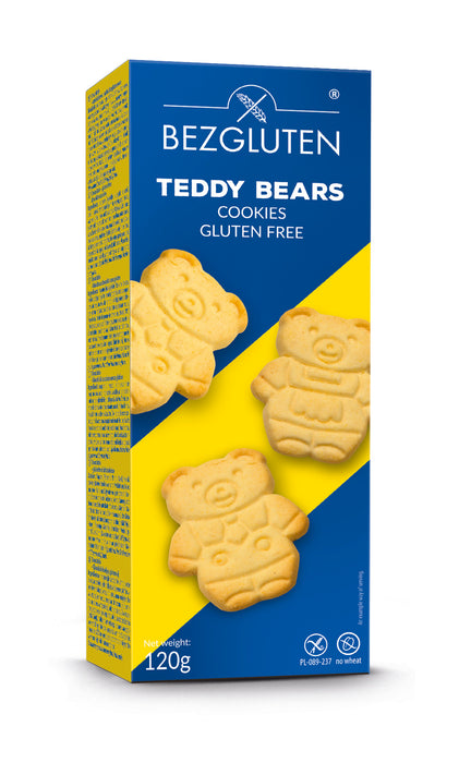 Teddy Bears Cookies 120g- Bezgluten
