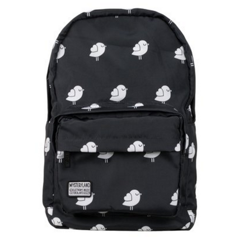 Black & White Birdie Backpack