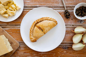 8 x Cheese & Onion Pasty 283g Frozen - Cornwall Hamper Store