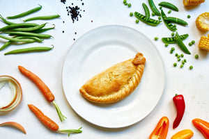 8 x Vegetable Pasties 283g Frozen - Cornwall Hamper Store