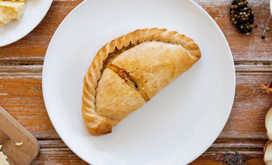 16 x Cocktail Cornish Traditional Pasties 168g Frozen