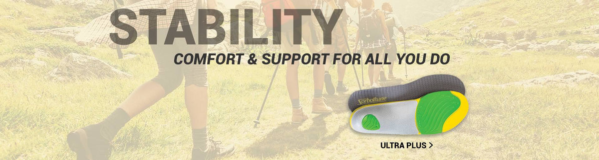Stability Comfort & Support For All You Do