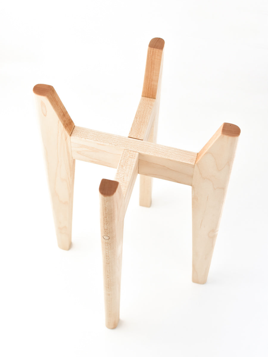 Hard Maple - Atlas Plant Stand
