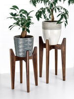 Load image into Gallery viewer, Black Walnut - Atlas Plant Stand