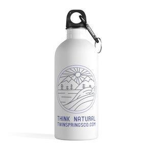 Twin Springs Mountain Logo Reusable Bottle - Twin Springs Co