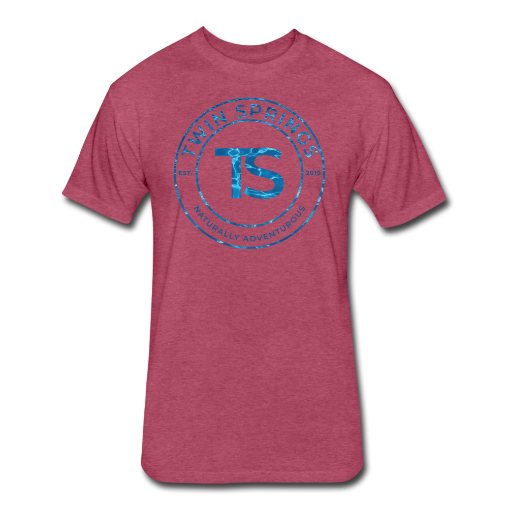 TS Blue Water Circle Logo Tee - Twin Springs Co