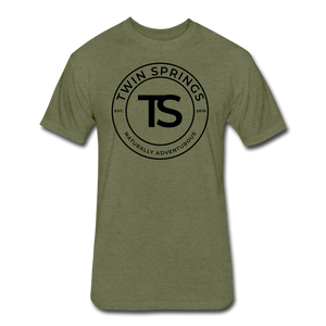 TS Black Circle Logo Tee - Twin Springs Co