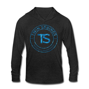 TS Blue Water Circle Logo Soft Hoodie - Twin Springs Co
