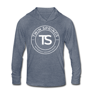 TS White Circle Logo Soft Hoodie - Twin Springs Co