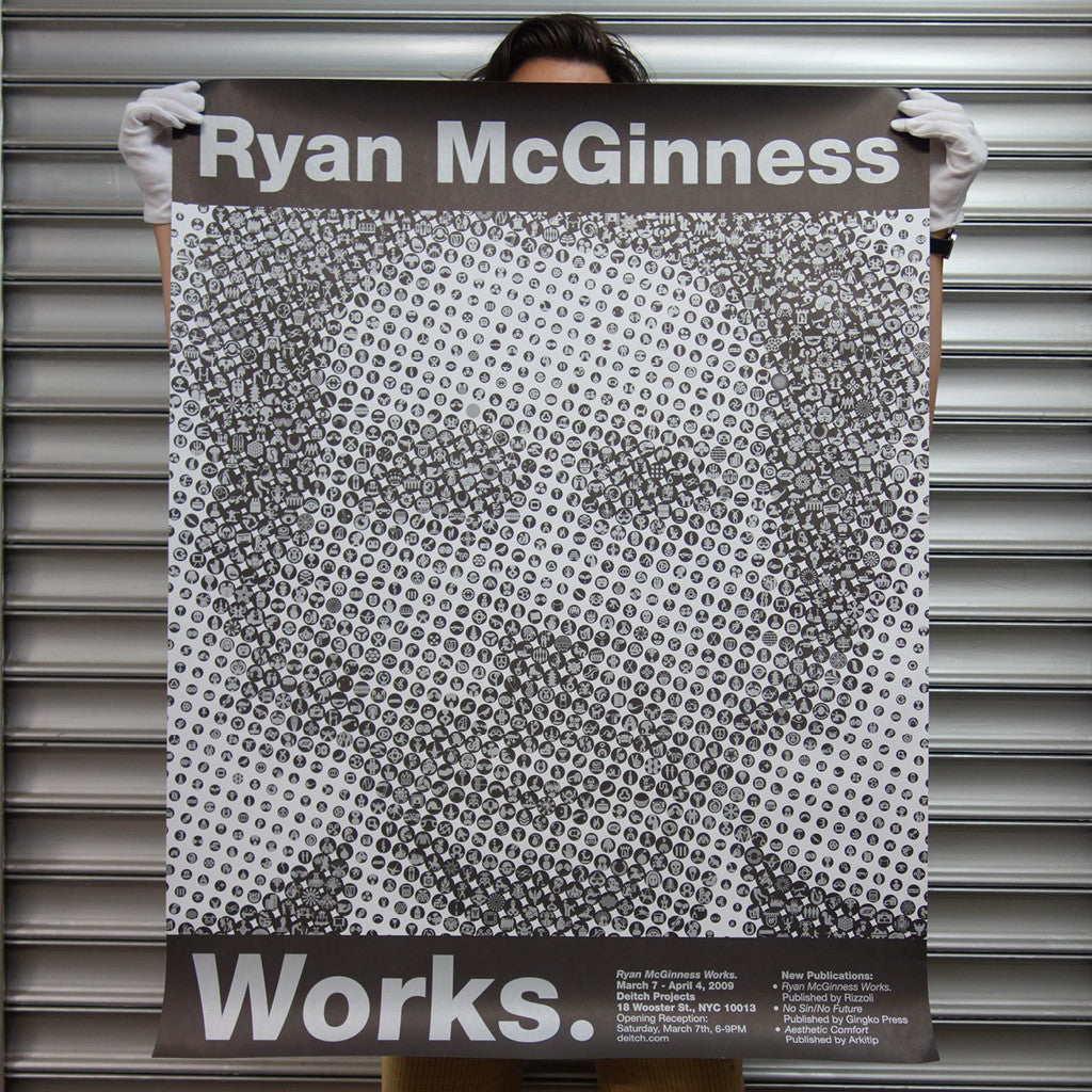 Ryan McGinness Works. <br> SOLD OUT