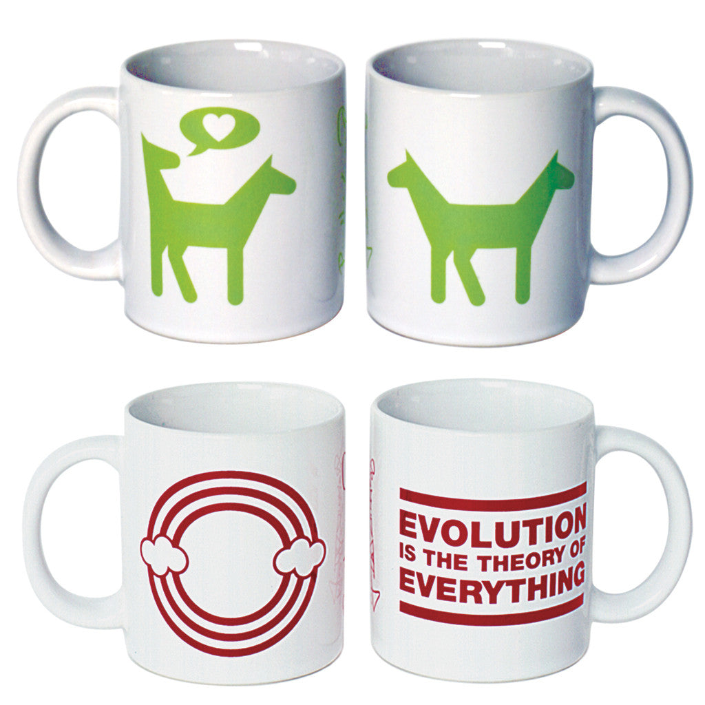 Mugs (Evolution) <br> SOLD OUT