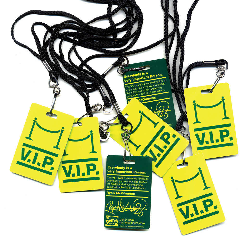 V.I.P. Passes <br> SOLD OUT