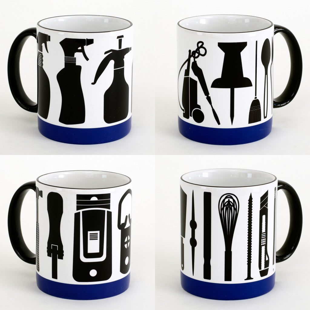 4 Mugs: Studio Tools <br> SOLD OUT