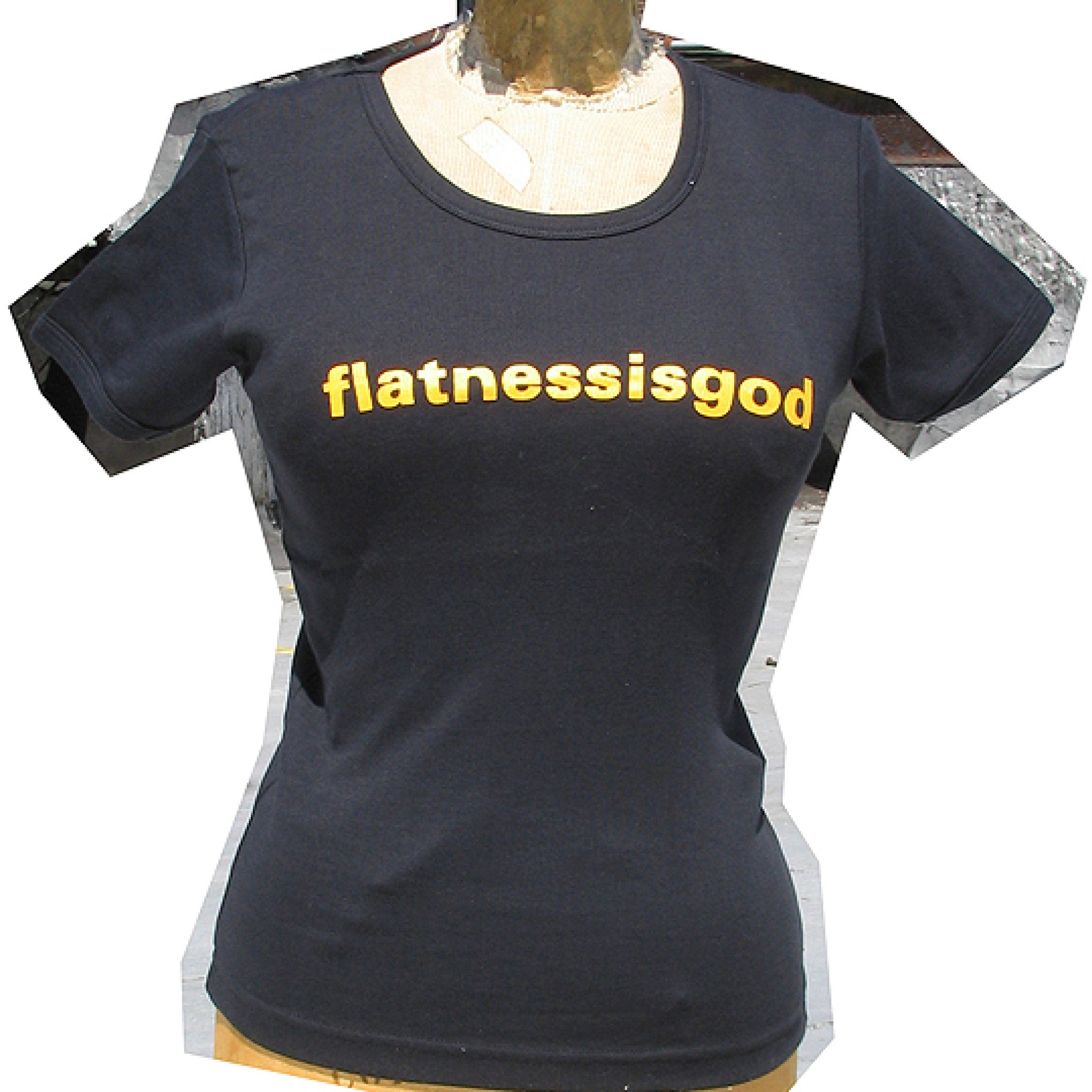Flatnessisgod T-shirt <br> SOLD OUT